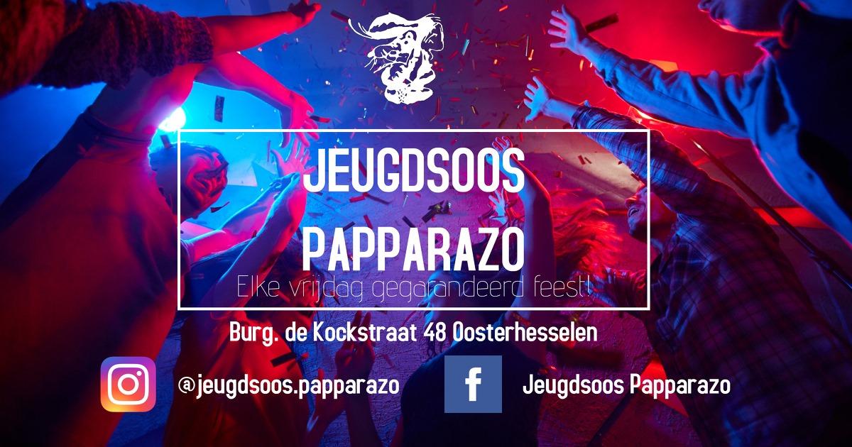 Jeugdsoos Papparazo - Social media